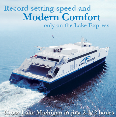 The Lake Express ( @lakeexpress ) #Car Ferry Saves Time and Stress In Driving Around Lake #Michigan