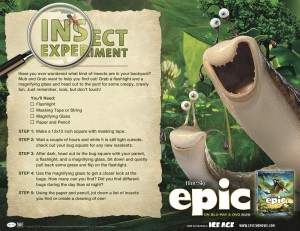 epic the movie, activity, dadofdivas.com