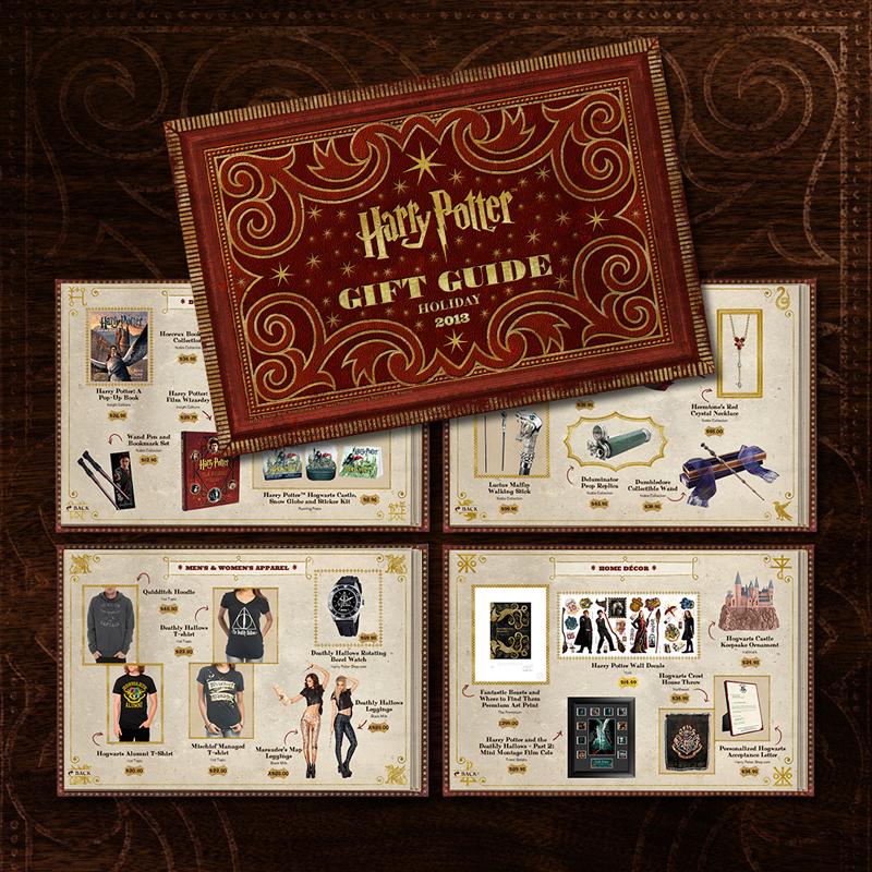 Harry Potter 2013 Gift Guide